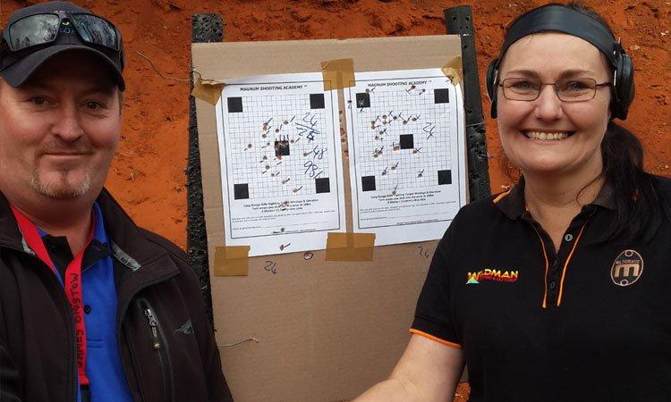 advanced lady instructor